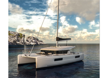 Chartern Sie katamaran in Marina Gouvia - Lagoon 40 (4+2Cab)