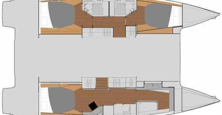 Rent a catamaran in Marina Sukosan (D-Marin Dalmacija) - FP Astrea 42