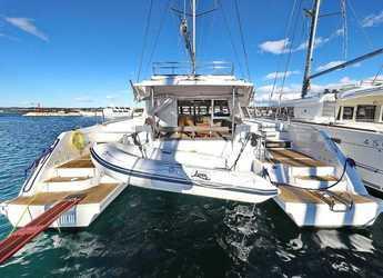 Chartern Sie katamaran in Marina Kornati - Nautitech 46 Fly