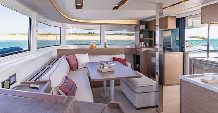 Rent a catamaran in Marina Sukosan (D-Marin Dalmacija) - Lagoon 46