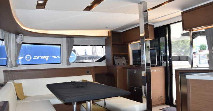 Rent a catamaran in Marina Skiathos  - Lagoon 46 (AC, Gen, Watermaker)