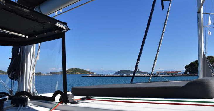 Rent a catamaran in Marina Skiathos  - Lagoon 42 (AC, Gen, Watermaker)