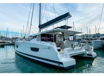 Rent a catamaran in ACI Marina Slano - Lucia 40