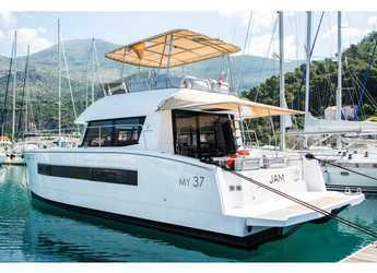 Rent a power catamaran  in Punat - Fountaine Pajot MY 37[G]