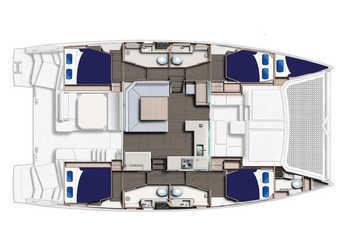 Rent a catamaran in Marina di Portorosa - Leopard 45
