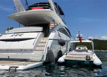 Rent a yacht in Marina Gouvia - Sunseeker Manhattan 70