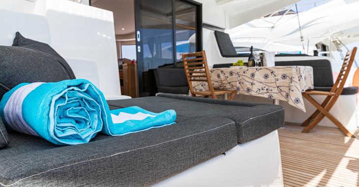 Rent a catamaran in Marina Frapa - Lagoon 42 (2019) MALA KATE I equipped with generator, A/C (saloon)