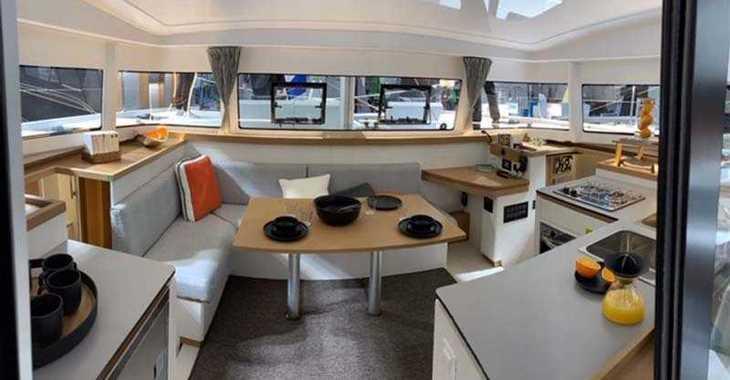 Rent a catamaran in Port Gocëk Marina - Excess 11 - 4 + 1 cab.