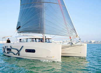 Rent a catamaran in Port Gocëk Marina - Excess 11 - 4 + 1 cab.