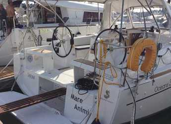 Rent a sailboat in Marina Frapa - Oceanis 35