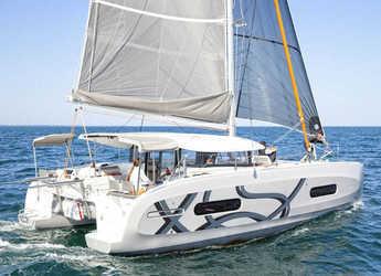 Rent a catamaran in Mykonos - Excess 11
