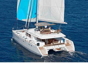 Rent a catamaran in Mykonos - Lagoon 560