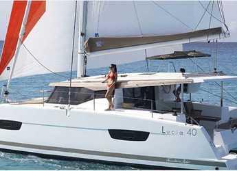 Rent a catamaran in ACI Marina Skradin  - Lucia 40