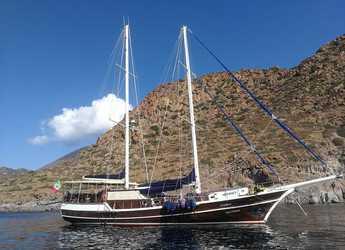 Rent a schooner in Lipari - Gelidonya II