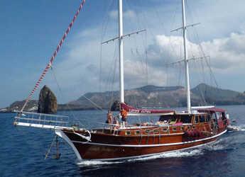 Rent a schooner in Lipari - Gulet