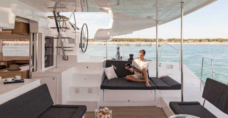 Rent a catamaran in Marina el Portet de Denia - Lagoon 450 Sport