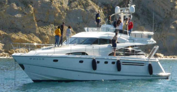 Rent a yacht in Marina el Portet de Denia - Fairline Squadron 58