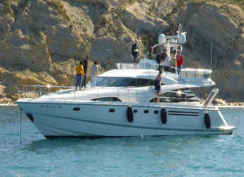 Rent a yacht in Marina el Portet de Denia - Fairline Squadron 58