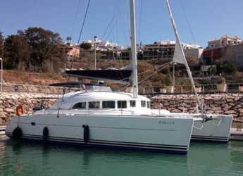 Rent a catamaran in Marina el Portet de Denia - Lagoon 380