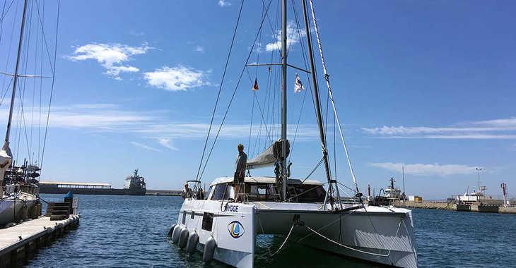 Rent a catamaran in El Arenal - Nautitech 40 Open - 4 + 1 cab.