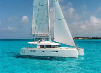 Chartern Sie katamaran in Marina di Portorosa - Lagoon 52F (5 cab)