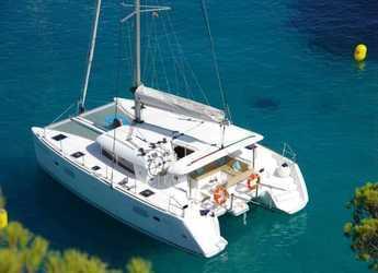 Chartern Sie katamaran in Club Náutico Ibiza - Lagoon 400