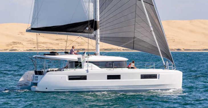 Rent a catamaran in Mykonos - Lagoon 46 - Skippered