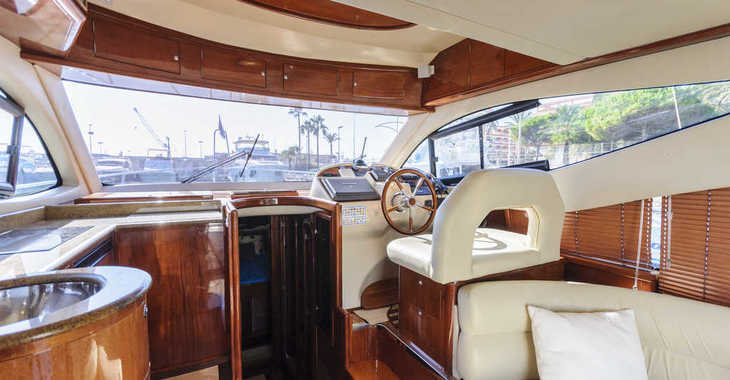 Rent a yacht in Marina de Dénia - Astinor 41