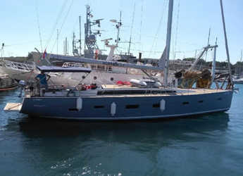 Rent a sailboat in Palermo - D&D Kufner 54