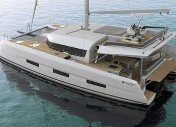 Chartern Sie katamaran in Cala dei Sardi - Dufour Catamaran 48