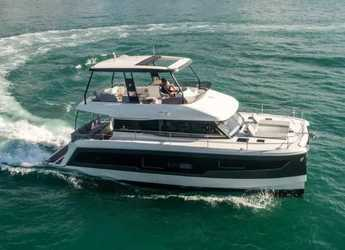 Rent a yacht in Porto Capo d'Orlando Marina - Fountaine Pajot M/Y 40