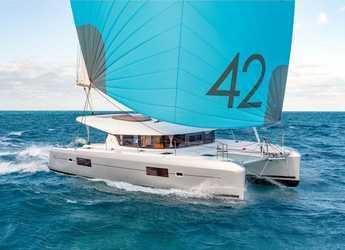 Chartern Sie katamaran in Marina Zeas - Lagoon 42