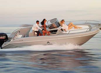 Chartern Sie motorboot in Ibiza Magna - Ayros XA 24