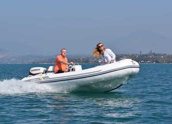 Rent a dinghy in Port of Pollensa - Zar Mini LUX 13