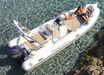 Rent a dinghy in Port of Pollensa - Capelli Tempest 600