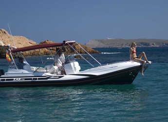 Rent a dinghy in Port of Pollensa - Zar 75 Suite