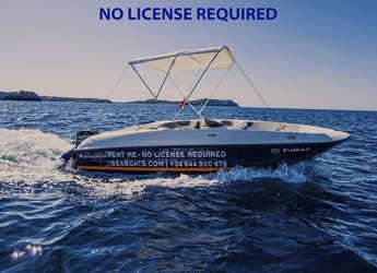 Chartern Sie motorboot in Sant antoni de portmany - Bayliner Element E6 ( Sin Licencia)