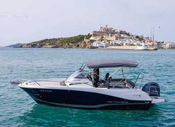 Rent a motorboat in Marina Ibiza - Jeanneau Cap Camarat 6.5 WA
