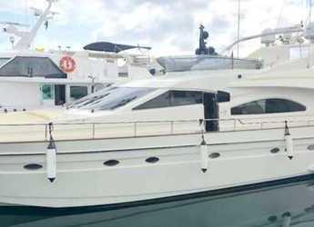 Rent a yacht in Club Náutico Ibiza - Astondoa 72