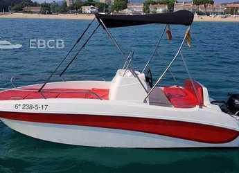 Alquilar lancha en Club Nautic Costa Brava - Remus 450