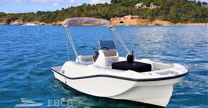 Rent a motorboat in Club Nautic Costa Brava - V2 Boats 5.0