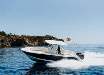 Rent a motorboat in Marina Botafoch - Robalo 300