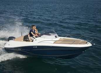 Chartern Sie motorboot in Puerto de blanes - Jeanneau Cap Camarat 6.5 WA