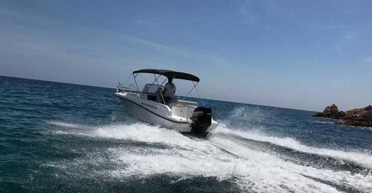 Rent a motorboat in Puerto de blanes - Marion