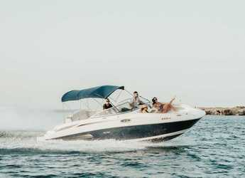 Rent a motorboat in Marina Botafoch - Sea Ray 260 Sundeck