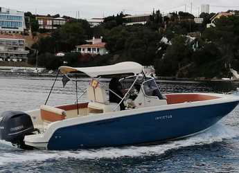 Rent a motorboat in Port Mahon - Invictus 240 FX