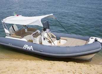 Alquilar neumática en Marina Portocolom - BWA 22 GTO