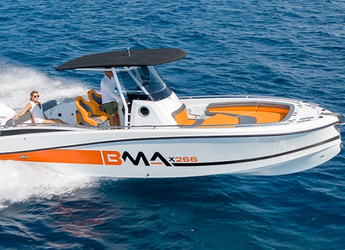Rent a motorboat in Portocolom - BMA X266