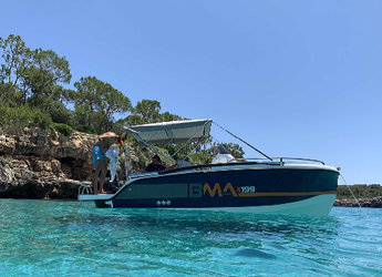 Rent a motorboat in Portocolom - BMA X199 Open