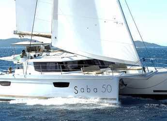 Rent a catamaran in Marina Baotić - Fountaine Pajot Saba 50 - 6 + 2 cab.